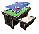 Simba Billardtisch 7 FT und Tischhockey und Tischtennistisch und Tischdecke mod.Mattew