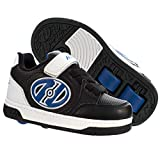 Heelys Plus X2 | Rollschuhe für Jungen | (32 EU, Black/White/Blue)