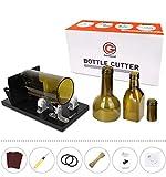 Flaschenschneider, Genround 2020 Aktualisierung 2.1 Glasflaschenschneider, Runde/Quadratische Flasche vom Hals bis zum Body Bottle Cutter, Weinflasche Glasflaschen Schneider Glasschneider für flaschen