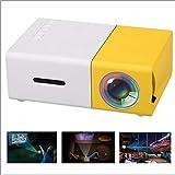 HRRH Taschenprojektor, Mini LCD LED Projektor 400-600LM 1080p Video 320 x 240 Pixel Bester Hauptprojektor