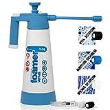 Kwazar Venus Super Foamer Cleaning Pro+ Viton 2L Box Limited Edition inkl. Mini Lanze 18 cm und 3 Düsen, Drucfksprüher Schaumsprüher mit 3 Schaumdüsen zum Anbringen von Reinigungsschaum, 2 Liter