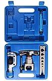 KFZTEILESCHNELLVERSAND24 Klimaanlage Bördelgerät Bördelwerkzeug Kupferrohre Alurohre 5-16MM für R410a