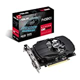 ASUS AMD Radeon Phoenix RX 550 EVO 4GB EVO Grafikkarte (GDDR5 Speicher, PCIe 3.0, 1x HDMI 2.0b, 1x DisplayPort 1.4, 1x DVI, PH-RX550-2G-EVO)