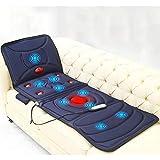 Ganzkörper-Massage-Matte mit Wärme, Multi-Funktions-Shiatsu-Massagematte mit 9 Massage-Modi, Massagekissen Entlasten Hals, Rücken, Taille, Beine Schmerz