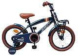 Amigo 2Cool - Kinderfahrrad - 16 Zoll - Jungen - mit Rücktritt und Stützräder - ab 4 Jahre - Blau