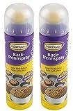 Günthart Backtrennspray   Backspray   Trennspray   Doppelpack   Spray zum Einfetten von Formen, Bleche, Waffeleisen   sehr ergiebig   einfach in der Anwendung   2x200 ml   OHNE Palmöl