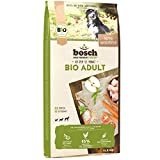 bosch HPC BIO | Adult Hühnchen & Apfel | Hundefutter für ausgewachsene Hunde aller Rassen | 100 % landwirtschaftliche Rohstoffe aus nachweislich biologischem Anbau