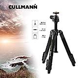 Cullmann Nanomax 400T Reisestativ inkl. Kugelkopf und Stativtasche (3 Auszüge, Tragfähigkeit 2,5kg, 86,5 cm Höhe, Packmaß 30 cm)