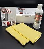SENOGLOSS Superpolish Pflegeset für Hochglanzmöbel 250 ml + 2x Poliertuch Küchen Möbel Politur Hochglanzpflegemittel