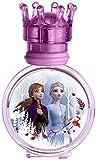 Disney Frozen II Eau de Toilette Natural Spray: Anna & Elsa Parfüm im schönen Glasflakon mit Krönchen-Verschluss, 1er Pack (30ml)
