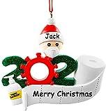 NewX Christbaumschmuck Weihnachtsanhänger DIY Harzbaumschmuck für Weihnachtsdekoration_001