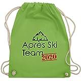 Après Ski - Après Ski Team 2020 - Unisize - Hellgrün - ski accessoires - WM110 - Turnbeutel und Stoffbeutel aus Baumwolle