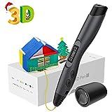 3D Stifte, Aerb 3D Pen mit 1,75mm PLA/ABS Filament, 8 Einstellbare Geschwindigkeit mit LCD-Bildschirm