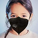 5x Kinder FFP2 Maske Schwarz CE 0598 zertifiziert schneller Versand aus Deutschland