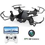 E61HW Mini Drohne mit Kamera Live Übertragung für Kinder Anfänger WiFi FPV ,Kopflos Modus,3D Flip,Höchenhaltung, RC Quadrocopter, Anfänger