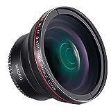Neewer HD-Weitwinkelobjektiv mit Makro-Nahlinse, schwarz, 55mm