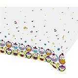 Muffin Tischtuch Törtchen Deko Tisch Decke 120 x 180cm Cupcakes Partytischdecke Cupcake Plastik Tischdecke Partydekoration Geburtstag Kinder Dekoration Accessoires Kaffee Plastiktischdecke