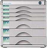 Aufbewahrungsschrank, Aktenschrank, Aktenschränke, blanko, Aluminiumlegierung, Anti-Off-Schnalle, Bürobedarf, massives Metall, ausreichend Platz (30 x 36 x 30,5 cm), Heimbüro-Möbelbox (Farbe: