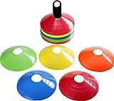 Jaques of London Trainingskegel - Activity Cones für den Garten - Ideal für Hindernisparcours und sogar als Fußball-Kegel Trainingssatz
