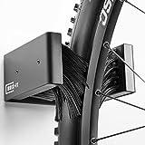 brix-it Fahrrad Wandhalterung Fahrradhalter für alle Reifenbreiten (1 Stück)
