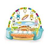 HYLH Baby Matte Teppich Musikalische Aktivität Gym Puzzle Kinder Tapete Infantile Soft Pad Bodenspiel Creeping Entwicklungsspielzeug