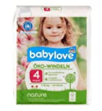 babylove Öko-Windeln nature Größe 4, Maxi, 7-18kg, 34 Stück