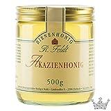 Akazien Honig, lieblich, klar, flüssig, super zum süßen, zum Anrichten von Soßen & Salatsoßen, unvermischt, ungefiltert, 500g