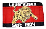 Fahne / Flagge Fussball Leverkusen Fan NEU 90 x 150 cm