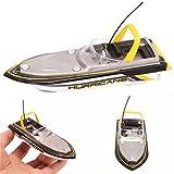 Egosy Ferngesteuerte Boote RC Boot Motorboot Ferngesteuert High Speed Boot mit Funkfernsteuerung Batteriebetrieben Spielzeug für Kinder