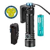OLIGHT SEEKER II Pro LED Taschenlampe 3200 Lumen, Reichweite bis 250 Meter, Wiederaufladbare Taschenlampe mit 5000mAh 21700 Batterie (Schwarz)