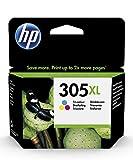 HP 305XL Farbe Original Druckerpatrone mit hoher Reichweite für HP DeskJet, HP DeskJet Plus, HP ENVY, HP ENVY Pro