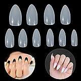 Lictin 600pcs Künstliche Fingernägel Falsche-Fingernägel Kunstnagel Nagel Fake Nägel Nagelspitzen