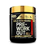 Optimum Nutrition ON Gold Standard Pre Workout Energy Drink Pulver mit Kreatin Monohydrat, Beta Alanin, L-Carnitin, natürliches Koffein und Vitamin B Komplex, Fruit Punch, 30 Portionen, 330g
