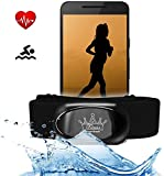 Fitness Prince© Heartbeat 2 Bluetooth 4.0 & ANT+ eBook Herzfrequenzmesser für RUNTASTIC Adidas Wahoo Nike+ und mehr - HRM Sensor für Garmin Polar Runtastic Wahoo Fitnessstudio