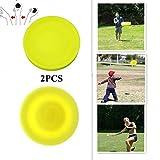 2 STÜCKE Zip Chip Frisbee Mini Tasche Weiche Neue Spin im Fangspiel Flying Disc
