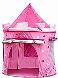 Kinderspielzelt Grosse Kinderzelt, Spielzelt Prinzessin Traum Schloss Burg Haus für Mädchen, im Kinderzimmer, Indoor/innen/außen/draußen, Pop Up