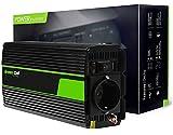 Green Cell® 300W/600W 12V auf 230V Modifizierte Sinus Spannungswandler Wechselrichter Modified Sine Wave Power Inverter Umwandler für Auto, Direktanschluss an Autobatterie, Zigarettenanzünder Stecker