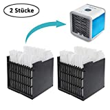N/Y 2 Stück Air Ersatzfilter, Filter Ersatz, Cooler Filter, Mini Luftkühler Ventilator Air Mini Cooler Mobile Klimageräte Ersatzteile (2 Pack)