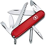 Victorinox Taschenmesser Hiker (13 Funktionen, Holzsäge, Phillips-Schraubendreher, Zahnstocher) rot