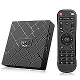 Bqeel Android TV Box /4GB+64GB/ HK1 MAX Smart Box mit RK3318 Quad-Core 64bit Cortex-A53 / WiFi 2.4GHz/ 5GHz/ 802.11 b/g/n Gigabit/ 4K HD Smart TV Box Android Box