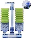 boxtech Aquarium Filter, Zubehör für Aquarium Filter, leiser Biorb Filter für kleine und große Aquarien (Double Sponge)