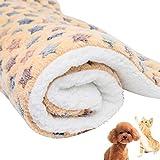 Shuda Haustierdecke mit Sternenmuster, warm, waschbar, weicher Stoff, zum Schutz von Welpen, Katzen