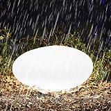 Homever Solarlampen für den Außenbereich, LED Solarlichtgarten mit Fernbedienung, mit 16 Farben und 4 Lichtmodi, IP67 wasserdicht für Pools/Gartenparty/Weihnachten