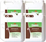 Envira Spinnen-Spray - Anti-Spinnen-Mittel Mit Langzeitwirkung - Geruchlos & Auf Wasserbasis - 4 x 5 Liter