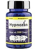 Hypnozan - 60 Tage. Kapseln zum Schlafen. Hochwertige Melatonin-Quelle. Zitronenmelisse, L tryptophan, Montmorency, ohne melatonin, keine Schlaftabletten