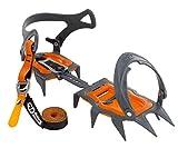 Climbing Technology Nuptse Evo Classic 3i850dvebmctstd Harscheisen, grau/orange, Einheitsgröße