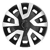 AutoStyle REVO Van 15' Silver/Black Satz Radzierblenden, Silber, Set of 4