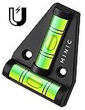 MINIC Magnetische-Kreuzwasserwaage || Kleine Wasserwaage | Strapazierfähig und Bruchsicher | Wohnmobil Zubehör | Starker Magnet | Wohnwagen Zubehör | Perfekt fürs Camping