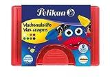 Pelikan 723148 - Wachsmalstifte 665 / 8 wasserfest, 8 Stangen