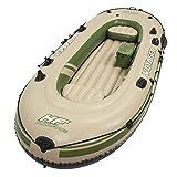 Bestway Hydro-Force Schlauchboot-Set Voyager 500, für 3 Personen, 348 x 141 x 48 cm